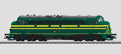 Märklin 39672 NOHAB Class 204 SNCB Diesel Locomotive