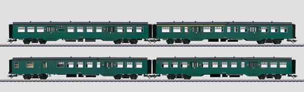 Märklin 43544 SNCB Commuter Car Set