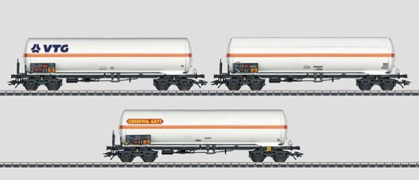 Märklin 48486 SNCF Pressurized Gas Tank Car Set