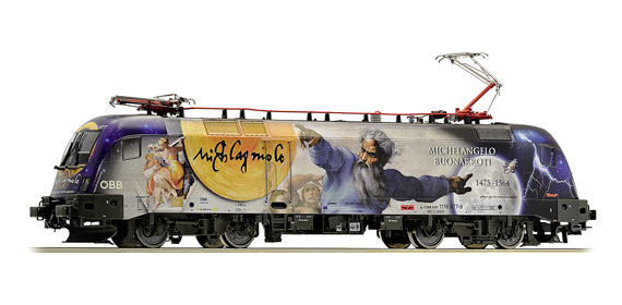 Roco 79525 Austrian Electric Locomotive Rh1116 Michelangelo / Galilei