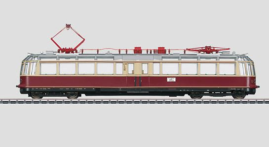 Märklin 37581 Powered Observation Rail Car ET 91 Glass Train