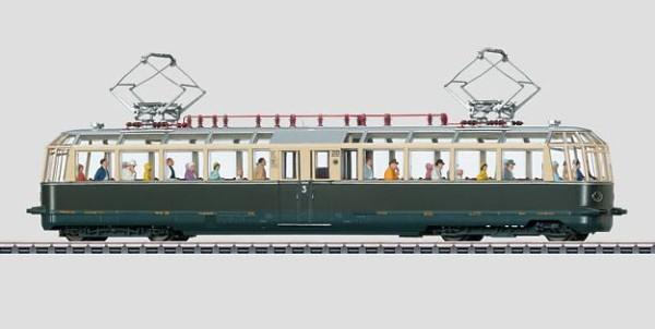 Märklin 37582 Powered Observation Rail Car