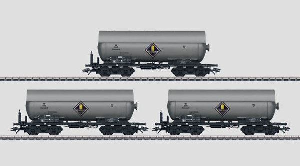 Märklin 46457 DSB Pressurized Gas Tank Car Set