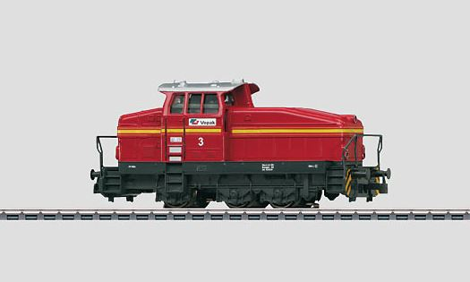 Märklin 36500 Vopak Dupeg Class DHG 500 Diesel Switch Locomotive