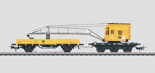 Märklin 46715 Leonhard Weiss Crane Car Set