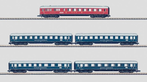 Märklin 87351 Lorelei Express Train Passenger Car Set