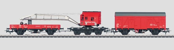 Märklin 46716 Railroad Fire Department Recovery Crane