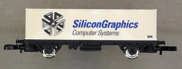 Märklin 86172R Silicon Graphics Container Car