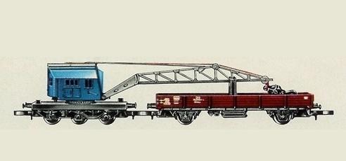 Märklin 8621 Crane Car