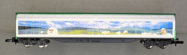 Märklin 81098.02 New Zealand High-Capacity Sliding Wall Boxcar