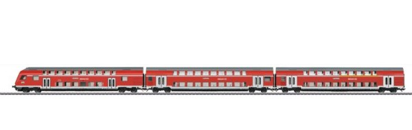 Märklin 43570 Regio DB Bi-Level Commuter Car Set