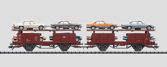Märklin 47126 Mercedes S Class Automobile Transport Set