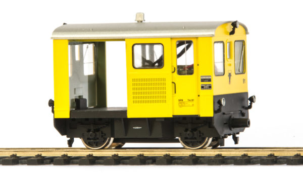 Bemo 1274 291 DFB Tm 2/2 91 Diesel Locomotive