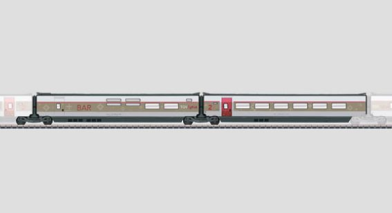 Märklin 43442 SNCF TGV Lyria High-Speed Train