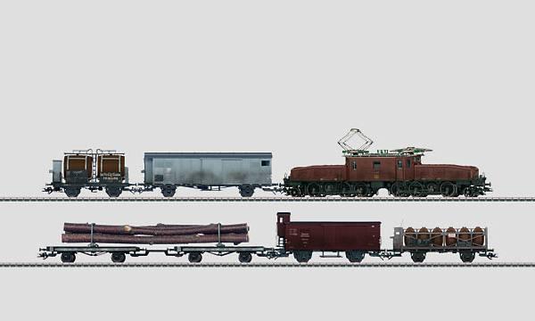 Märklin 26591 Swiss Crocodile Freight Train Set