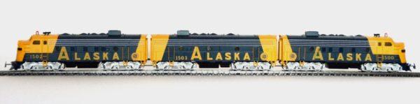 Märklin 3663 Alaska Railroad F7