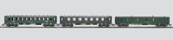 Märklin 42383 Swiss Oldtimer Passenger Train Wagon Set