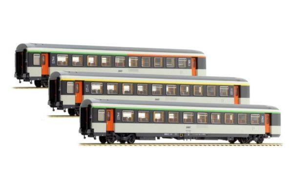 LS Models 40135 SNCF Corail Passenger Car Set