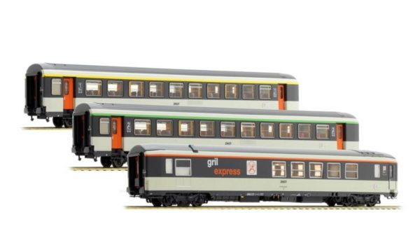 LS Models 40134 SNCF Corail Passenger Car Set