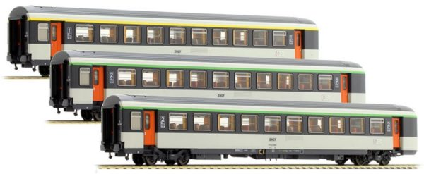 LS Models 40136 SNCF Corail Passenger Car Set