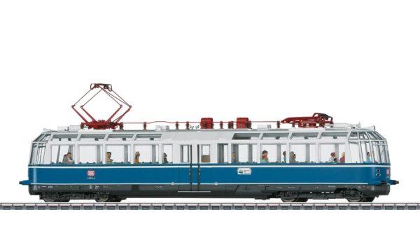 Märklin 37584 Powered Observation Rail Car Class 491 Glass Train
