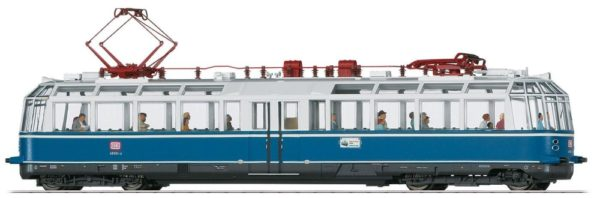 Märklin 37584 Powered Observation Rail Car Class 491 Glass Train