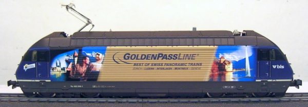 HAG 28508-32 BLSB Re 465 Golden Pass Line