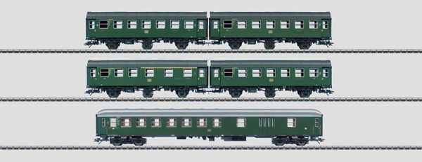 Märklin 43194 DB Passenger Car Set