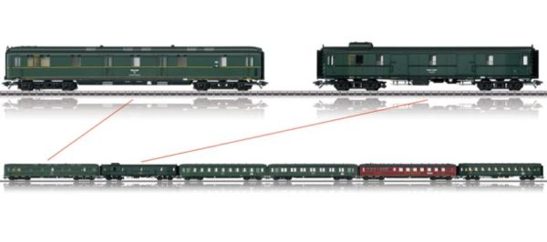 Märklin 43256 Berlin–Stuttgart Express Train Passenger Car Set