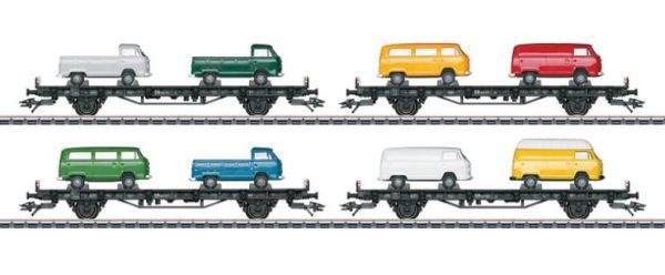Märklin 45082 VW Bus Transport Car Set
