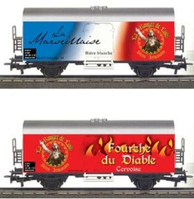 Märklin 44562.018 Beer Wagons Fourche du Diable and La Marseillaise