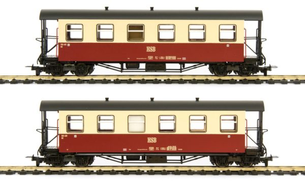 Tillig 13992 Two HSB Passenger Cars
