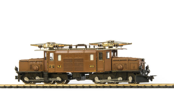 Bemo 1255 Ge 6/6 Crocodile Electric Locomotive