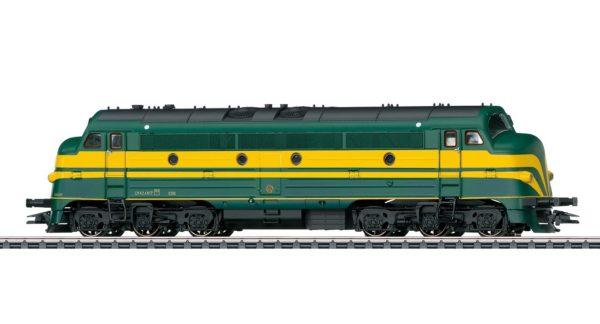 Märklin 39676 SNCB Class 202 Diesel Locomotive