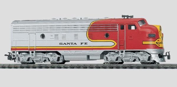Märklin 40622 Santa Fe F7 Diesel Electric Locomotive