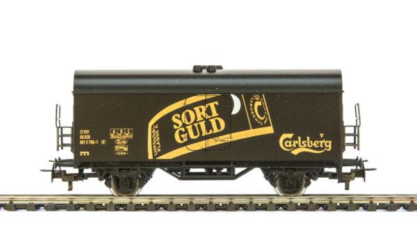 Märklin 4415 86070 Carlsberg Sort Guld Beer Wagon