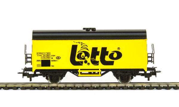 Märklin 4415 87725 Lotto Yellow Refrigerated Wagon