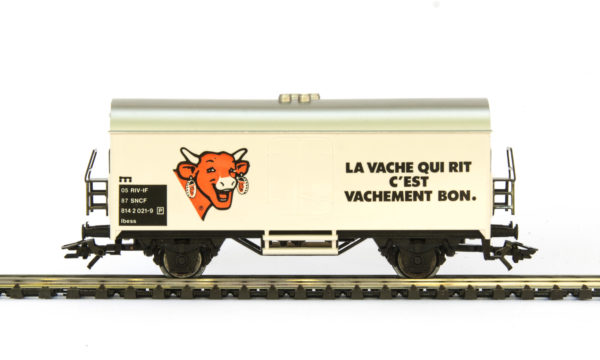 Märklin 4415 89747 La Vache qui Rit Refrigerated Wagon