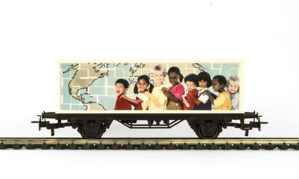 Märklin 44267 UNICEF Container Wagon