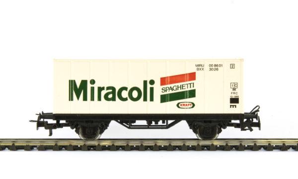 Märklin 4481 86709 Miracoli Container Wagon