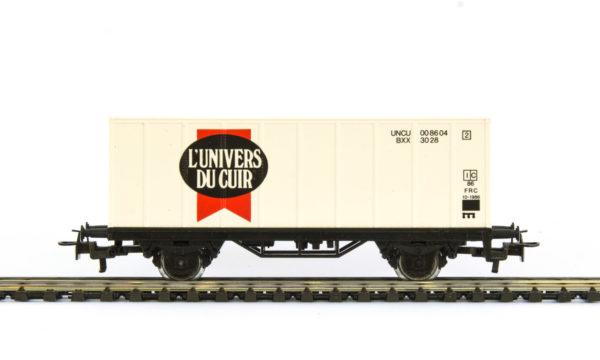 Märklin 4481 87725 L'Univers du Cuir Container Wagon