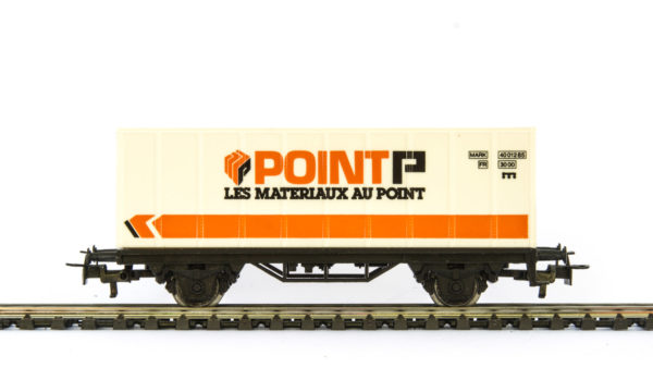 Märklin 4481 90734 Point P Container Wagon