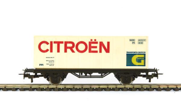 Märklin 4481 91740 Citroën Container Wagon