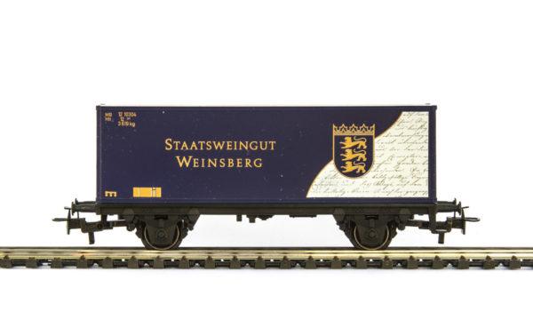 Märklin 4482.047 Staatsweingut Weinsberg Container Wagon