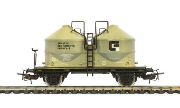 Märklin 4763 Société des Ciments Français Silo Wagon