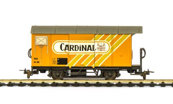Bemo 2274 313 MOB Cardinal Beer Wagon