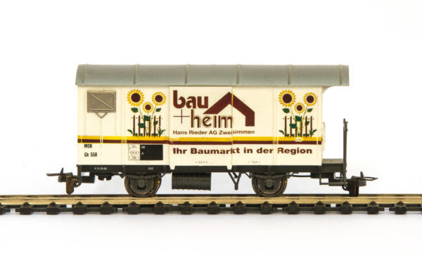 Bemo 2274 328 MOB Bau + Heim Refrigerated Wagon