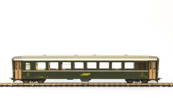Bemo 3250 115 RhB 2nd Class Passenger Car