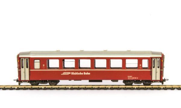 Prototype: RhB 2nd Class Passenger Car EW I BB B 2451