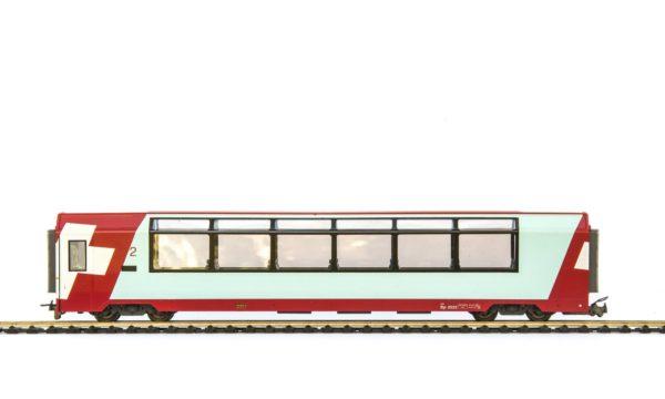 Bemo 3289 123 RhB Glacier Express 2nd Class Passenger Car